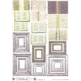 "LaBlanche LB Cut Out feuille ""4 Ephemera"""