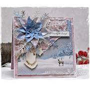 Karten und Scrapbooking Papier, Papier blöcke Kaarten en plakboek, designerblok, winterwonderland