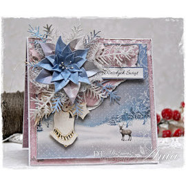 Karten und Scrapbooking Papier, Papier blöcke Carte e carta scrapbook, blocco designer, paese delle meraviglie invernale