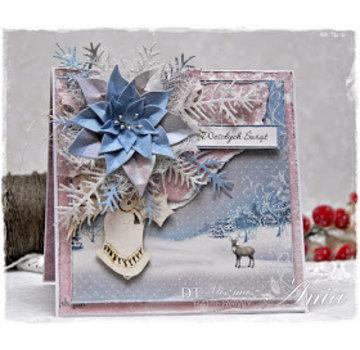Karten und Scrapbooking Papier, Papier blöcke Kort og scrapbog papir, designer blok, vinter wonderland