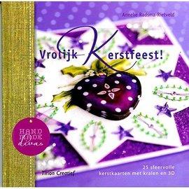 Bücher, Zeitschriften und CD / Magazines Prenota con 25 cartoline di Natale con perline in 3D