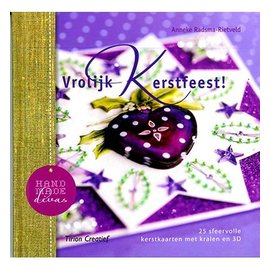 Bücher, Zeitschriften und CD / Magazines Book with 25 Christmas cards with pearls in 3D