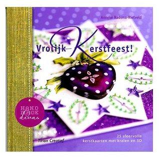 Bücher, Zeitschriften und CD / Magazines Book with 25 Christmas cards with pearls in 3D