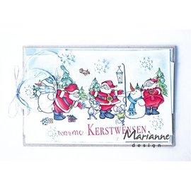 Marianne Design Gennemsigtig / Clear Stamp: Santas