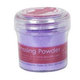 FARBE / STEMPELKISSEN Embossing Powder (28g) - Zartlila