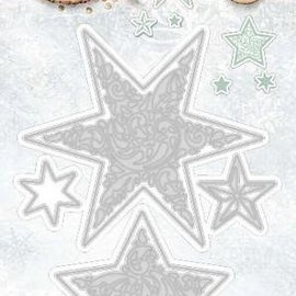 Studio Light Cutting and embossing template: Stars
