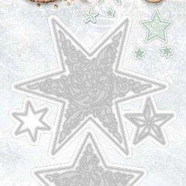 Studio Light Plantilla de corte y estampado: estrellas