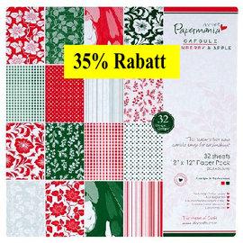 Karten und Scrapbooking Papier, Papier blöcke Designerblock, 30,5 x 30,5cm