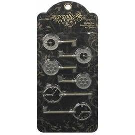 Vintage, Nostalgia und Shabby Shic Shabby Chic Metal Clock Taster