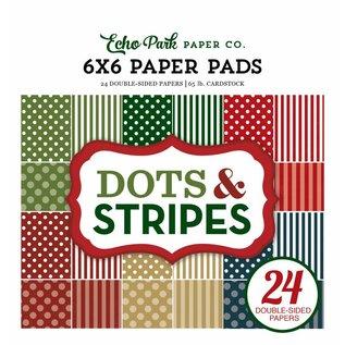 Karten und Scrapbooking Papier, Papier blöcke Designer block, points and stripes