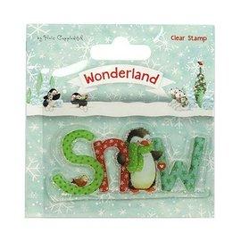 Stempel / Stamp: Transparent Transparent / Clear Stempel: Wunderland