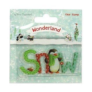 Stempel / Stamp: Transparent Transparante / Clear Stamp: Wonderland