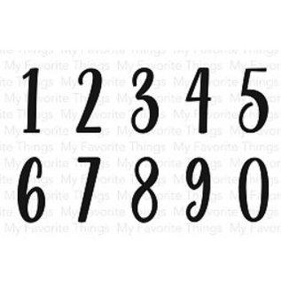 Stempel / Stamp: Transparent Transparant / Clear Stamp: cijfers