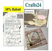 Stempel / Stamp: Transparent Clear / Transparent Stempel: deutsche Sprüche