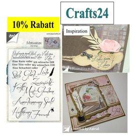Stempel / Stamp: Transparent Timbre clair / transparent: Proverbes allemand