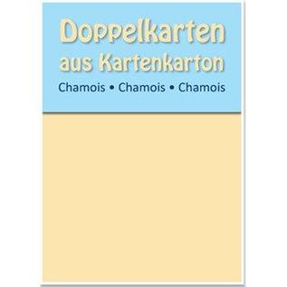 KARTEN und Zubehör / Cards Dual kaarten B6, gemzen, 250 g / m²