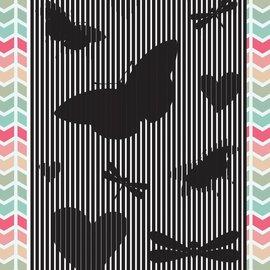 Uchi's Design Transparent Stempel: Animation Schmetterlinge