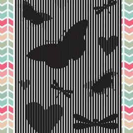 Uchi's Design Uchi Design Animation Clear Stamp Butterfly