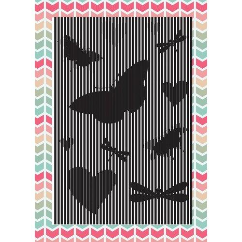 Uchi's Design Uchi's Ontwerp Animatie Clear Stamp Butterfly