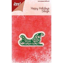 Joy!Crafts / Jeanine´s Art, Hobby Solutions Dies /  Taglio & Embossing: Sleigh