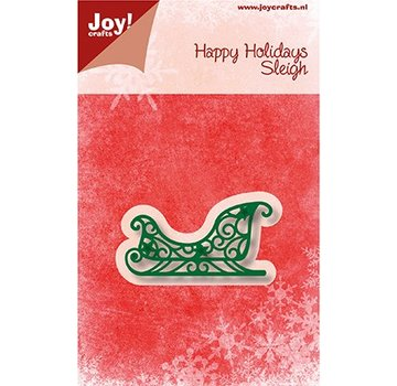 Joy!Crafts / Jeanine´s Art, Hobby Solutions Dies /  Taglio & Embossing: Sleigh