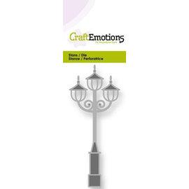 Craftemotions modello di punzonatura: lampione nostalgica