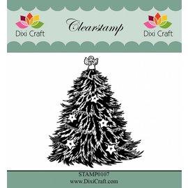 Stempel / Stamp: Transparent tampons transparents: arbre de Noël