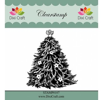 Stempel / Stamp: Transparent Transparent stamp: Christmas tree