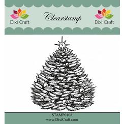 Transparent Stempel: Weihnachtsbaum