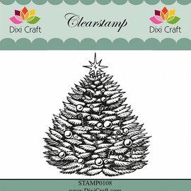 Stempel / Stamp: Transparent Gennemsigtige frimærker: juletræ