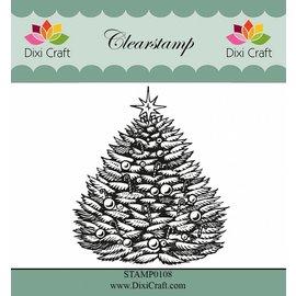 Stempel / Stamp: Transparent Gjennomsiktige stempler: juletre