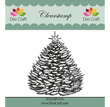 Stempel / Stamp: Transparent timbri trasparenti: Albero di Natale