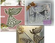 Senge, jul engel og vinger