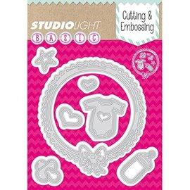 Studio Light Cutting en embossing sjabloon: Thema Baby