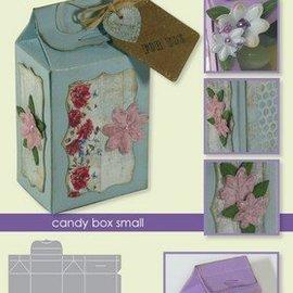 Crealies und CraftEmotions coupe die: boîte de cadeau