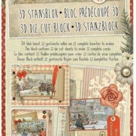 BASTELSETS / CRAFT KITS Ponche A4 bloque, recogida Anton, Navidad
