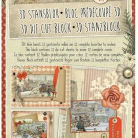 BASTELSETS / CRAFT KITS Punch blok A4, Anton stige, jul
