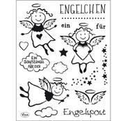 Stempel / Stamp: Transparent Gennemsigtig Stempel: Angel