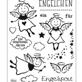 Stempel / Stamp: Transparent Transparent stamp: Angels