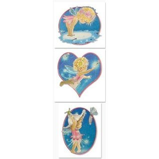 Bilder, 3D Bilder und ausgestanzte Teile usw... 3D punching sheet: Dufex, Metallic Angel