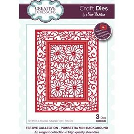 CREATIVE EXPRESSIONS und COUTURE CREATIONS Cutting and embossing die: Christmas motif