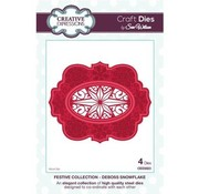 CREATIVE EXPRESSIONS und COUTURE CREATIONS Cutting and embossing die: Christmas star in the frame - only 1 in stock!