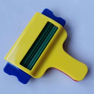 BASTELZUBEHÖR, WERKZEUG UND AUFBEWAHRUNG Wave maker - paper wave - crimper - riffler - 8 cm