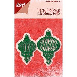 Joy!Crafts / Jeanine´s Art, Hobby Solutions Dies /  Coupe et gaufrage: boules de Noël
