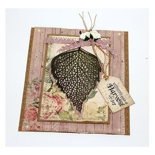 Joy!Crafts / Jeanine´s Art, Hobby Solutions Dies /  Cutting and Embossing die: Birch leaf