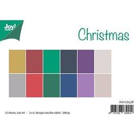 Bücher, Zeitschriften und CD / Magazines A4 Papierset, Matching Colors Uni - Christmas