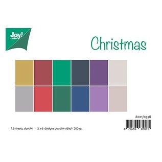 Bücher, Zeitschriften und CD / Magazines A4-papier set, bijpassende kleuren Uni - Christmas