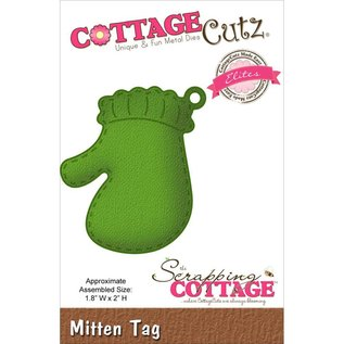 Cottage Cutz Cutting and embossing die: Gloves Embellishment