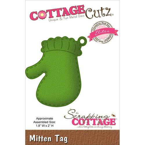 Cottage Cutz Snij en embossing Sjabloon: Handschoenen Versiering