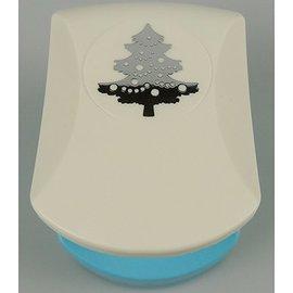 Nellie Snellen Coups de poing avec l'arbre de Noël